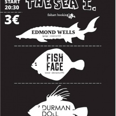 Koncert – UNDER THE SEA I. (Edmond Wells, Fishface, Durman Doll) – 21. november 2015, Artklub, Trnava