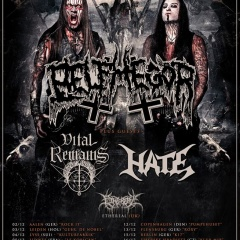 Koncert – Belphegor, Vital Remains, Hate +support, 16. december 2015, Melodka, Brno