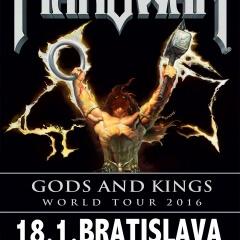 Manowar ukázali majestátny design pódia, ktoré privezú aj na Slovensko !