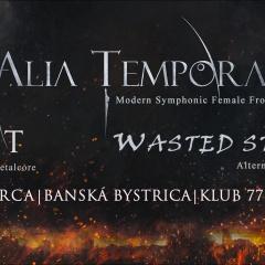Koncert – AINT, Wasted Strings, Alia Tempora, Volume, 4. marec 2016, Klub 77, Banská Bystrica