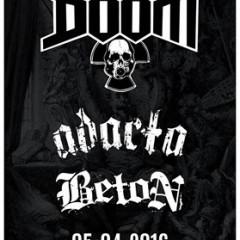 DOOM – ADACTA – BETON v Bratislave!!!