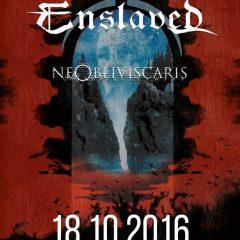 Svoju štvrťstoročnú existenciu oslávia Enslaved aj v Prahe!