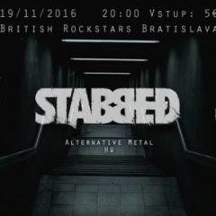 Morna, Stabbed (HUN) and Still Bleeding v British Rock Stars v Bratislave
