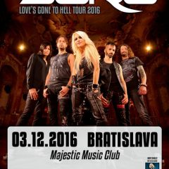 Metalová kráľovna Doro Pesch v Bratislave!
