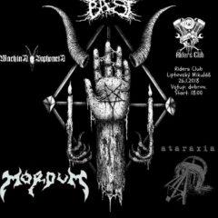 Ataraxia – Mordum-Zhor-Machina Baphometa – Riders Pub – Liptovský Mikuláš – 26.1.2018