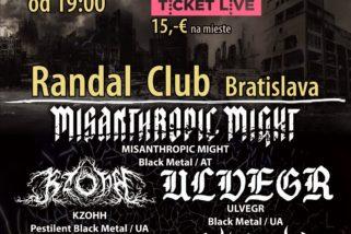Reportáž – Pressburg Black Death Fest – Bratislava – Randal Music Club, 23.03.2018