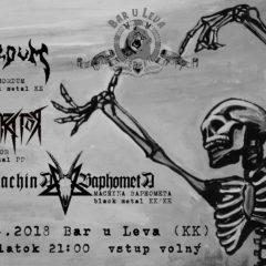 Machina Baphometa / Mordum / Pothrator v Kežmarku