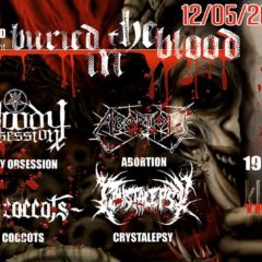 Report – Buried in the Blood – 12. 5. 2018 – Klub Lúč, Trenčín