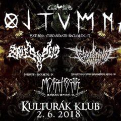 Voltumna / Terrestrial Chaos / Žriebädlo / Morhörr alebo metal v Kulturáku