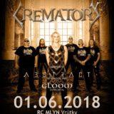 Legenda Crematory navštívi na deň detí Slovensko