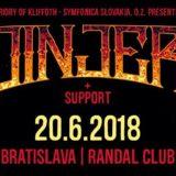 JINJER už túto stredu vystúpi v Randal Music Clube