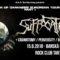 Report – Suffocation, Craniotomy, Perversity, Bloody Redemption – 15. 6. 2018, Rock Club Tartaros, Banská Bystrica