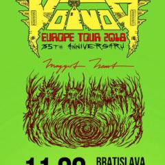 VOIVOD dorazia v septembri do Bratislavy