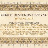 Nemecký festival CHAOS DESCENDS s nabitým line-upom!