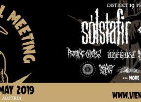 Vienna Metal Meeting 2019 ohlásil prvú várku kapiel!