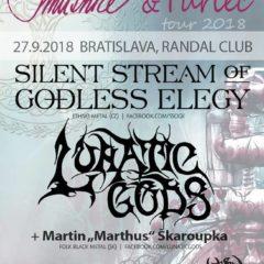 Silent Stream of Godless Elegy sa tento týždeň zastavia v troch slovenských mestách!