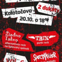 Ďalšia UG pogo párty v Kolotočove!