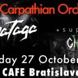 Trans Carpathian Orchestra a  XIII Ghosts v Rock CAFE v Bratislave