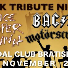 For Those About To Rock – Tribute Night v Randal Music Clube