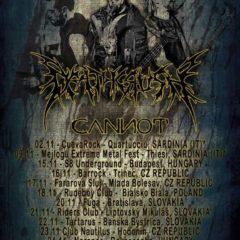 Deathcrush a Cannot sa v rámci turné zastavia na Slovensku!