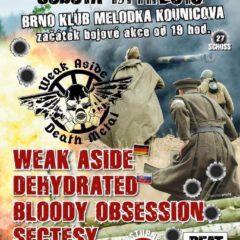 REPORT – Fatal Flesh Feast vol.27 – 17.11.2018, Melodka, Brno