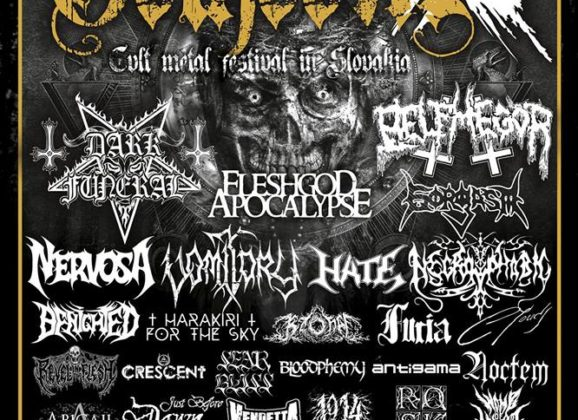GORGASM, JUST BEFORE DAWN, 1914, ABIGAIL, WOMB OF MAGGOTS a BLOODPHEMY na GOTHOOME 2019!