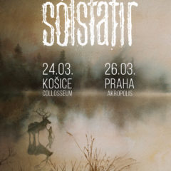 SÓLSTAFIR sa preženie z východu (Košice) na západ (Praha)
