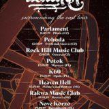 Nové Korzo privíta post-metal Palmer zo Švajčiarska