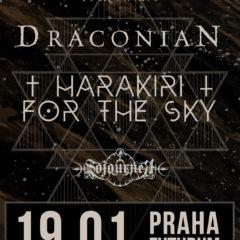 KONCERT – Draconian / Harakiri For The Sky / Sojourner – 19.01. Praha, Futurum