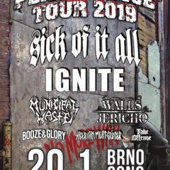 KONCERT – PERSISTENCE TOUR 2019 – 20.1.2019 Brno, SONO