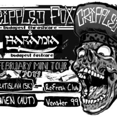 Crippled Fox, Haramia, Škoda120, Strike Down už zajtra v Re:Fresh clube