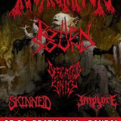 Report – Incantation, Rotten Sound, Defeated Sanity, Implore, Skinned – 25. 3. 2019 – Randal Club, Bratislava