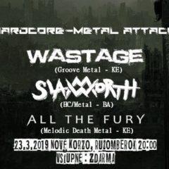 Metal – Hardcore Attack Ružomberok – túto sobotu