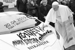 Kontatto, Adacta, Nikander alebo sobotňajšia liturgia crust-punku v Bratislave!