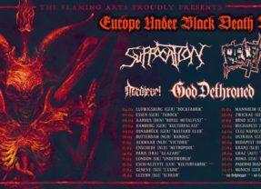Suffocation, Belphegor a God Dethroned v nedeľu v Brne!