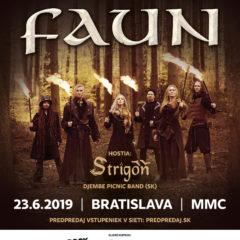 FAUN  poprvýkrát na Slovensku !!!