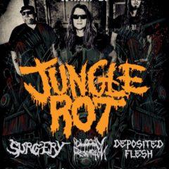 Jungle Rot + support v Ružomberku!