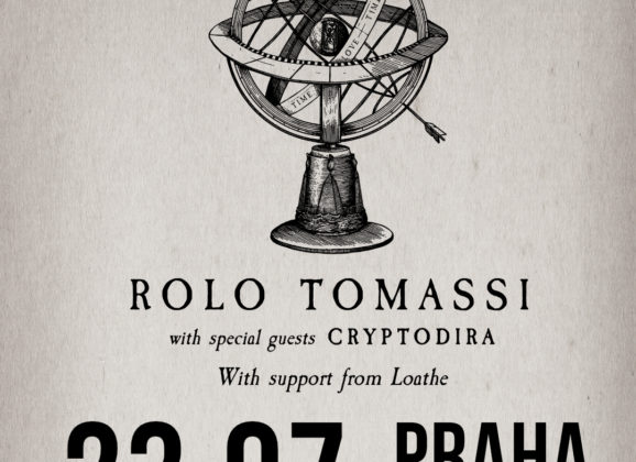 ROLO TOMASSI, CRYPTODIRA, LOATHE v budúcom týždni v Prahe!