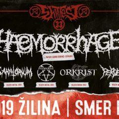 Report – Shitfest 33. – 5. 10. 2019 – Smer Klub 77, Žilina
