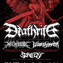 Report – Surgery – Warshipper – Deathrite – Frankie Club – Nitra – 28.9.2019