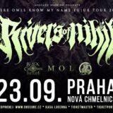 RIVERS OF NIHIL vyrážajú na európske turné, zastavia sa vPrahe!
