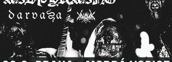 Koncert MISÞYRMING + DARVAZA + VORTEX OF END v Prahe už 23.9.!