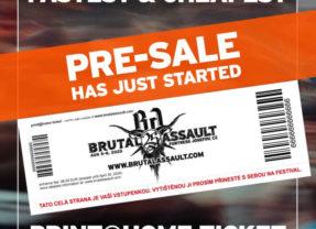 Začal sa predpredaj vstupeniek na Brutal Assault!