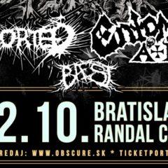 REPORT – Hell Over Europe III. – ENTOMBED A.D., ABORTED, BAEST – 22.Október 2019, Randal Club, Bratislava