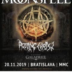 Koncert MOONSPELL spolu s ROTTING CHRIST a GALADRIEL v Bratislave