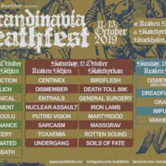 REPORT – Scandinavia Deathfest 2019 – 3. DEŇ