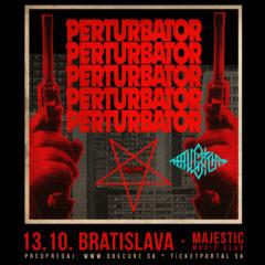 PERTURBATOR a THE ALGORITHM v nedeľu v Majestic klube v Bratislave