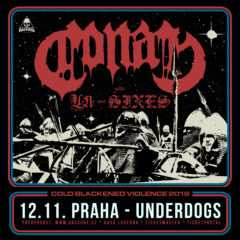 Doom/sludge/stoner skaza CONAN v Prahe