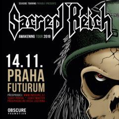Arizonskí thrasheri SACRED REICH v Prahe