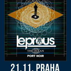 Intelektuálny excentrický Leprous se vracia do Prahy spolu s Ocean a Port Noir